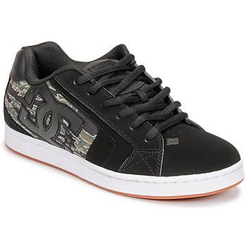 Schoenen Heren Lage sneakers DC Shoes NET SE Zwart / Camouflage