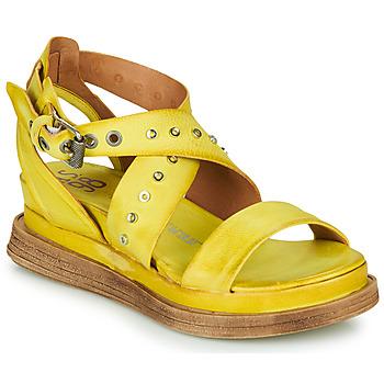 Schoenen Dames Sandalen / Open schoenen Airstep / A.S.98 LAGOS 2 Geel