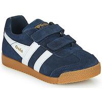 Schoenen Kinderen Lage sneakers Gola HARRIER VELCRO Marine