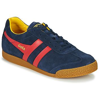 Schoenen Heren Lage sneakers Gola HARRIER Marine / Rood