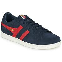 Schoenen Heren Lage sneakers Gola EQUIPE SUEDE Marine / Rood
