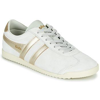 Schoenen Dames Lage sneakers Gola BULLET PEARL Wit / Goud