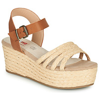 Schoenen Dames Sandalen / Open schoenen MTNG GARISSON Beige