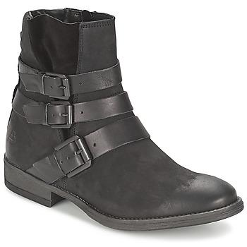 Schoenen Dames Laarzen Bullboxer AXIMO Zwart