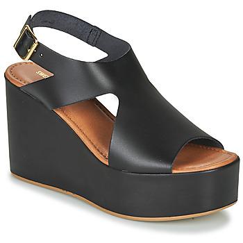 Schoenen Dames Sandalen / Open schoenen Sweet Lemon IJOX Zwart