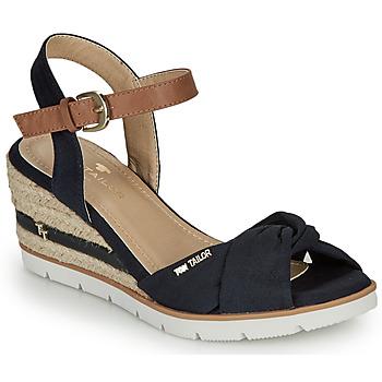 Schoenen Dames Sandalen / Open schoenen Tom Tailor 8090403 Marine