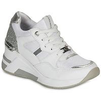 Schoenen Dames Lage sneakers Tom Tailor 8091512 Wit / Zilver