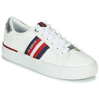 Schoenen Dames Lage sneakers Tom Tailor 8096801 Wit