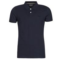 Textiel Heren Polo's korte mouwen Esprit OCS pique polo ss Marine