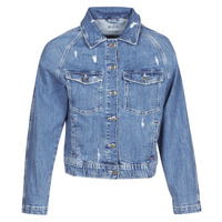 Textiel Dames Spijker jassen Esprit  Blauw / Medium