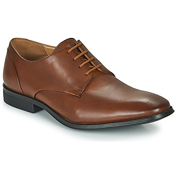 Schoenen Heren Derby Clarks GILMAN PLAIN Brown