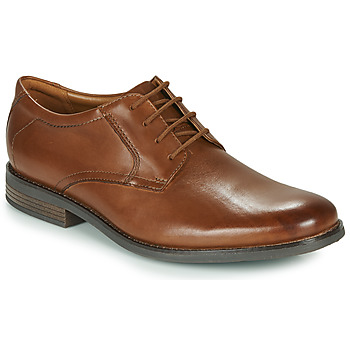 Schoenen Heren Derby Clarks BECKEN LACE Brown