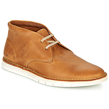 Schoenen Heren Derby Clarks FORGE STRIDE Brown