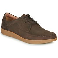 Schoenen Heren Derby Clarks OAKLAND CRAFT Brown