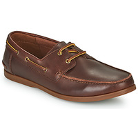 Schoenen Heren Derby Clarks PICKWELL SAIL Brown
