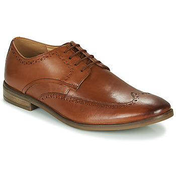 Schoenen Heren Derby Clarks STANFORD LIMIT Brown