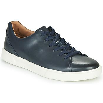 Schoenen Heren Lage sneakers Clarks UN COSTA LACE Marine