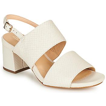 Schoenen Dames Sandalen / Open schoenen Clarks SHEER55 SLING Wit
