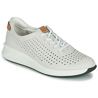 Schoenen Dames Lage sneakers Clarks UN RIO TIE Wit