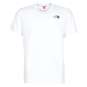 Textiel Heren T-shirts korte mouwen The North Face S/S REDBOX Wit