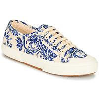 Schoenen Dames Lage sneakers Superga 2294-COTFANW Beige / Blauw