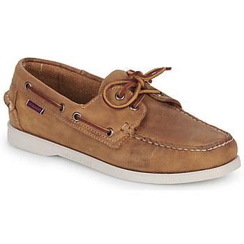 Schoenen Dames Bootschoenen Sebago DOCKSIDES PORTLAND CRAZY H W Brown