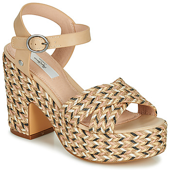 Schoenen Dames Sandalen / Open schoenen Pepe jeans BLEAN Beige