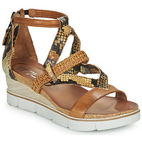 Schoenen Dames Sandalen / Open schoenen Mjus TAPASITA Brown / Pyton