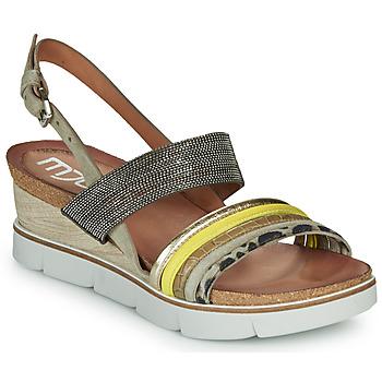 Schoenen Dames Sandalen / Open schoenen Mjus TAPASITA Taupe