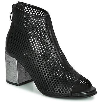 Schoenen Dames Laarzen Mjus MUSIC Zwart