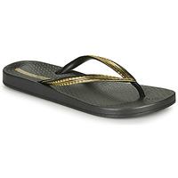 Schoenen Dames Slippers Ipanema MESH IV Zwart / Goud
