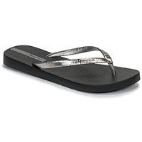 Schoenen Dames Slippers Ipanema GLAM II Zwart / Zilver
