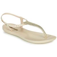 Schoenen Dames Sandalen / Open schoenen Ipanema CLASS GLAM III Beige / Goud