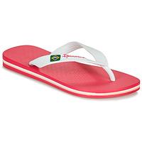 Schoenen Meisjes Slippers Ipanema CLAS BRASIL II Roze / Wit