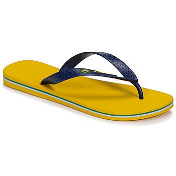 Schoenen Heren Slippers Ipanema CLAS BRASIL II Geel / Blauw