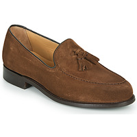 Schoenen Heren Mocassins Barker STUDLAND Brown
