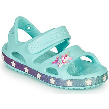Schoenen Meisjes Sandalen / Open schoenen Crocs FUNLAB UNICORN SANDAL Blauw