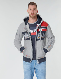 Textiel Heren Sweaters / Sweatshirts Geographical Norway FLYER Grijs / Chiné
