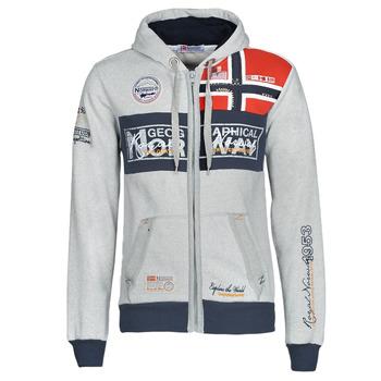 Textiel Heren Sweaters / Sweatshirts Geographical Norway FLYER Grijs / Chiné
