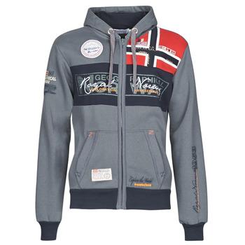 Textiel Heren Sweaters / Sweatshirts Geographical Norway FLYER Grijs / Donker