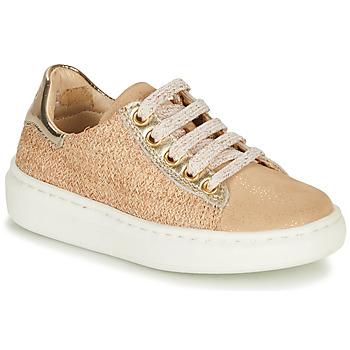 Schoenen Meisjes Lage sneakers Shoo Pom FLASH ZIP LACE Beige