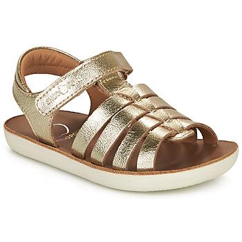 Schoenen Meisjes Sandalen / Open schoenen Shoo Pom GOA SPART Goud