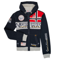 Textiel Jongens Sweaters / Sweatshirts Geographical Norway FLYER Marine
