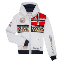 Textiel Jongens Sweaters / Sweatshirts Geographical Norway FLYER Wit