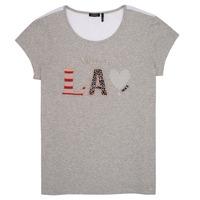 Textiel Meisjes T-shirts korte mouwen Ikks ZOKO Grijs