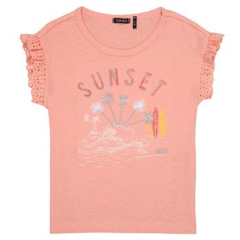 Textiel Meisjes T-shirts korte mouwen Ikks POLIAK Orange