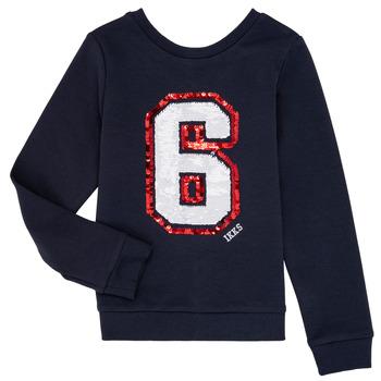 Textiel Meisjes Sweaters / Sweatshirts Ikks BENEDICTE Marine