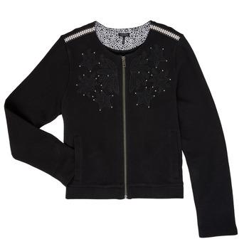 Textiel Meisjes Vesten / Cardigans Ikks LOUKAS Zwart