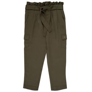 Textiel Meisjes Losse broeken / Harembroeken Ikks ALEXIA Kaki