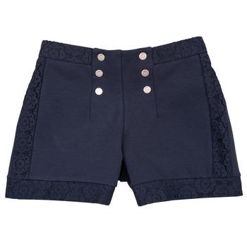 Textiel Meisjes Korte broeken / Bermuda's Ikks SOLISSO Marine
